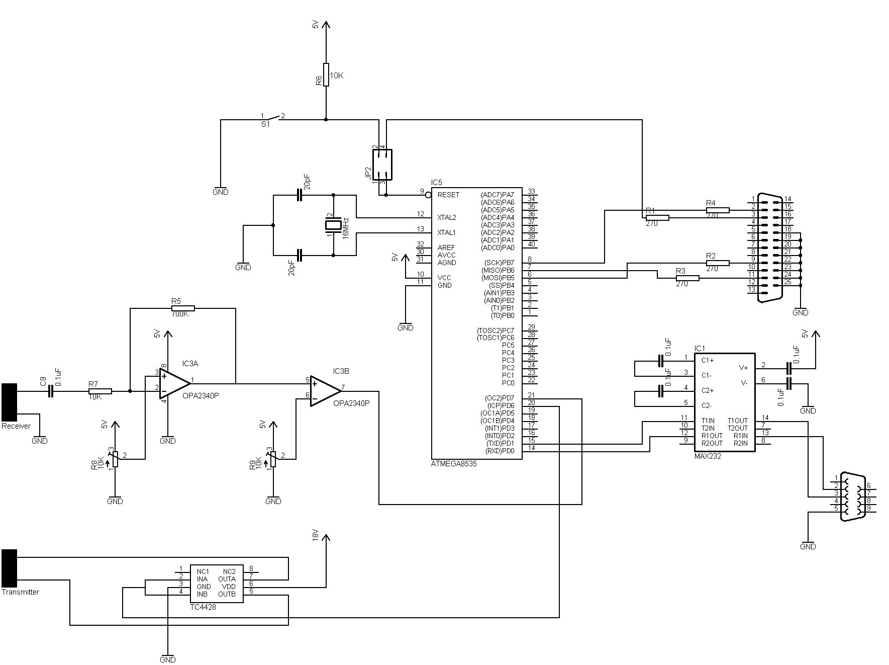 As You Can See On The Schematic Below It Is Fairly Straightforward